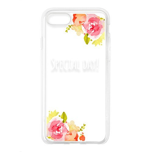 UNiCASE BLUE LABEL iPhone8/7 case, Typo Series (Clear)