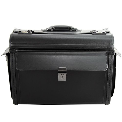 d & n Business & Travel Pilotenkoffer Trolley 48 cm
