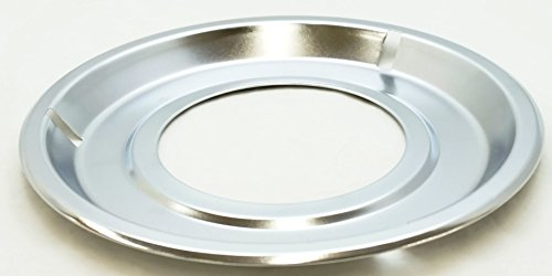 Stanco Deluxe Gas Range Burner Drip Pan for Frigidaire, AP2137021, PS454077, (Round Gas Drip Pan)