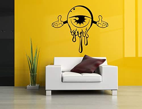 Vinyl Sticker Eye Hands Halloween Cartoon Poster Mural Decal Wall Art Decor EH2195 ()