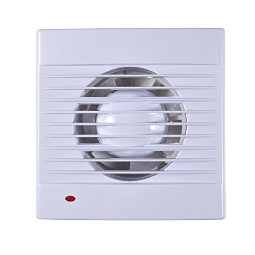 Review Of Extractor Fan,110V Wall-Mounted One Speed Setting Shutter Ventilating Exhaust Fan for Bath...