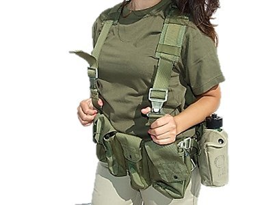 Tactical Vest - G.I. Combat Harness - IDF Army Special Force (Force Recon Vest)