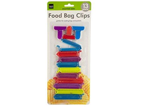 Bulk Buys of655 - 12 pinzas para bolsas de alimentos y # 44 ...