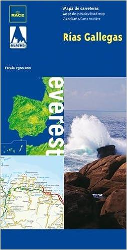 Mapa Carreteras Rias Gallegas 9788424102838 Amazon Com Books