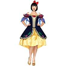 Leg Avenue Womens Disney Snow White Deluxe Halloween Theme Party Fancy Costume