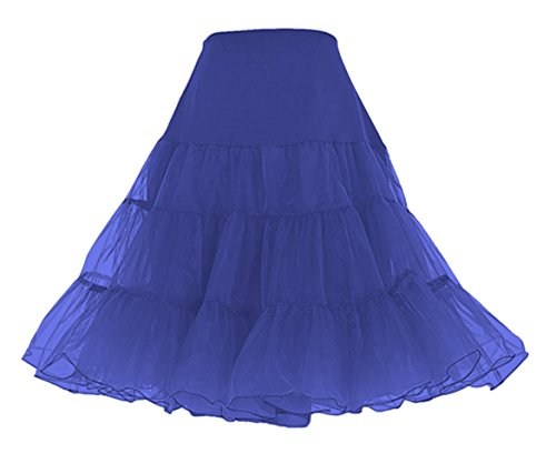 Lindy Hop Dress Costume (Petticoat Crinoline. Wonderful petticoat skirt for petticoat dresses, poodle skirts, Vintage dresses, or as Rockabilly Adult Tutu Skirt. Tulle fabric; 26