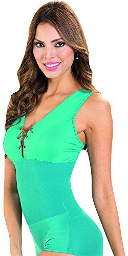 Shaper Blouse (Aranza Women's Body Shaper Blouse Ab Control | Blusas Colombianas Faja Sexy - Size S/M)