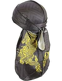 Best Designer Premium Durag for Men Women, 20+Fashion Pattern, Du-rag for Men Waves