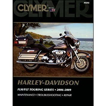 Clymer M252 Maintance / Troubleshooting / Repair Manual for Harley 06-09 FLH FLT (M252) by Clymer (Image #1)