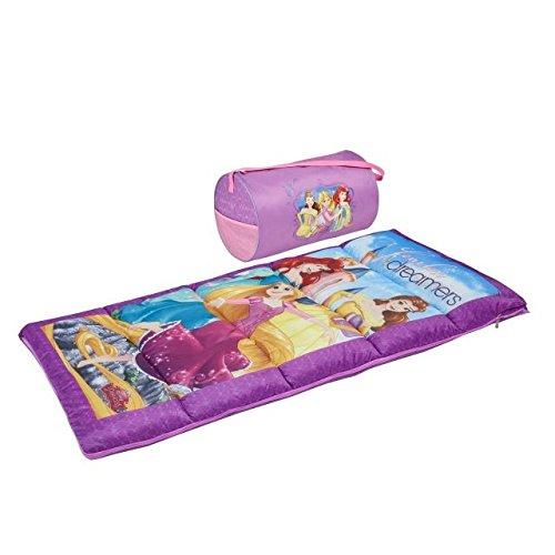(Exxel Outdoors Disney Princess Kids 2-Piece Duffel Kit)