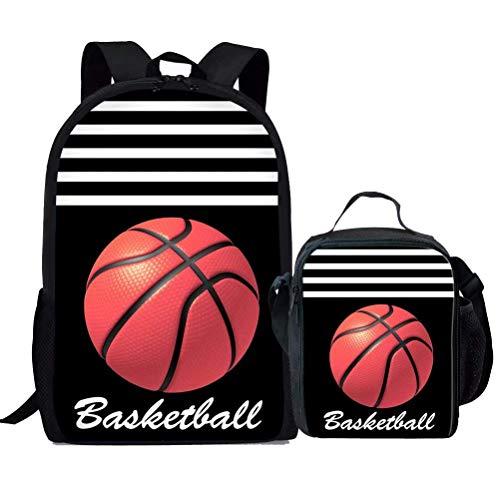 Juego de Mochila de Baloncesto para niños, diseño de balón de ...