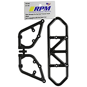 RPM 81002 Rear Bumper Black Slash