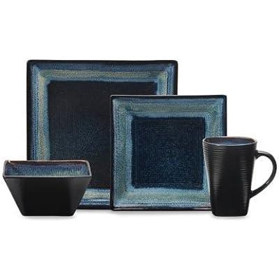 Click for Oneida Adriatic 16pc Dinnerware Set, Blue