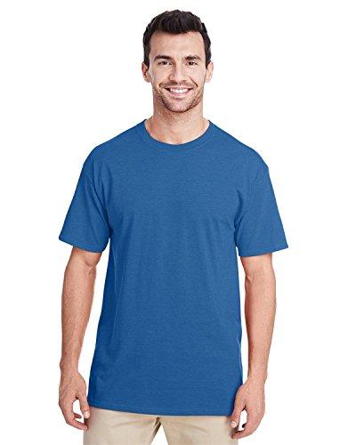 Jerzees Mens Premium Ringspun T-Shirt (460R) -Retro HTHR -2XL