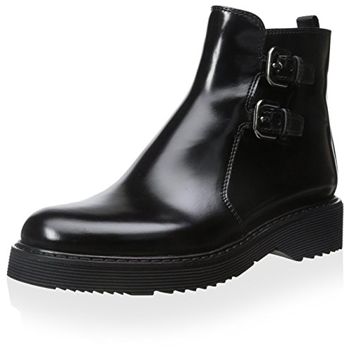 Prada Linea Rossa Women's Ankle Boot, Nero, 37.5 M EU/7.5 M - Shop Prada Online