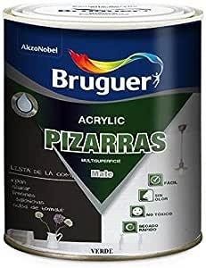 Pintura Pizarra (Verde 0,750 L) Envío GRATIS: Amazon.es: Bricolaje y herramientas