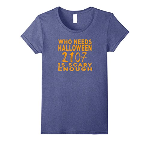 Womens Funny Political 2017 Halloween Costume Shirt Small Heather (Funny Women's Halloween Costumes 2017)