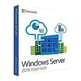 Software : Microsoft Windows Server 2016 Essentials 64-bit - Box Pack - 1 Processor