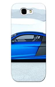 First-class Case Cover Series For Galaxy Note 2 Dual Protection Cover 2014 Audi R8 Lmx Kgaxlg-1951-fhhupsk