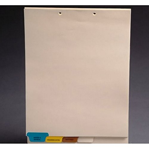Stock Chart Divider Sets, Medical, END TABs, 1/4th Cut (100 Sets of 4 Tabs) by The Filing Supplies Shop