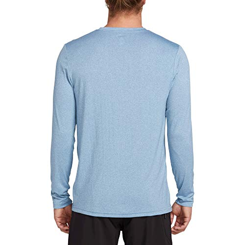 Volcom Men's Lido Heather Loose Fit Long Sleeve Rashguard