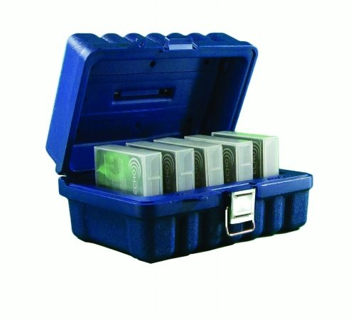 Storage Case Turtle LTO Holds 5 Blue by Permastore