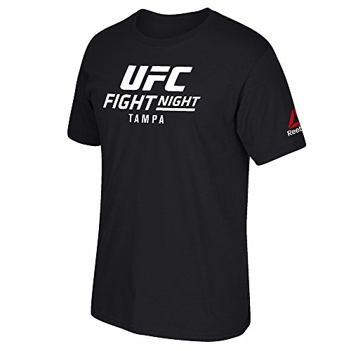 Used, Reebok UFC Black Fight Night @ Tampa Event Graphic for sale  Delivered anywhere in USA