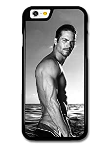 Paul Walker Black and White Photoshoot in the Sea case for iPhone 6