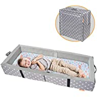 Milliard Portable Toddler Bumper Bed   Folds for Travel