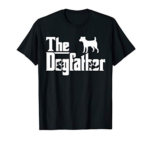 The Dogfather Jack Russell Terrier Funny Dog Owner Tee