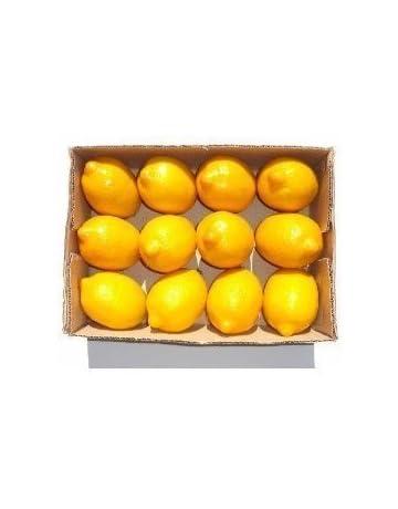 GODHL limones artificiales imitación fruta hogar decoración arte amarillo