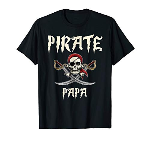 (Pirate Papa Funny Skull Adult Gift Halloween)
