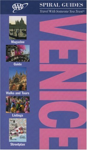 Venice Spiral Guide (AAA Spiral Guides) -