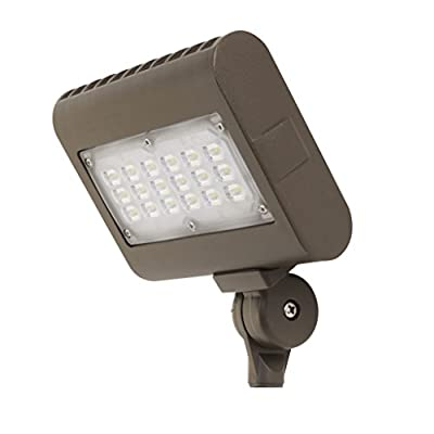 FEIT S7CSFL/850/BZ 3500 Lumen 5000K LED Flood Light, 120-277V - BRONZE FINISH
