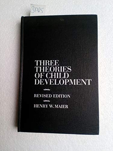 Three Theories of Child Development: The Contributions of Erik Erikson, Jean Piaget, and Robert R. Sears, and Their Applications.