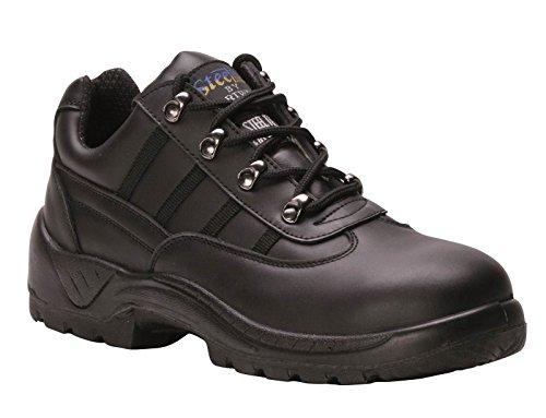PORTWEST FW25 Steelite™ Safety Trainer S1P Black FW25BK-R44