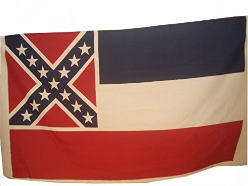 Brass Blessing Large - Mississippi Vintage Marine Flag/Banner - 100% Cotton - 95 X 61 INCHES Approx - 100% Original (999)