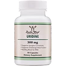Uridine Monophosphate (Choline Enhancer) 300mg - 50 Capsules- Made in USA