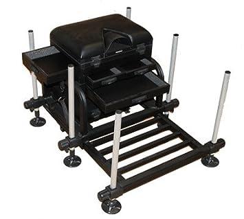 Grandeslam World Class Seat Box 4 Draw Match Fishing Storage Tackle Pole  Seat