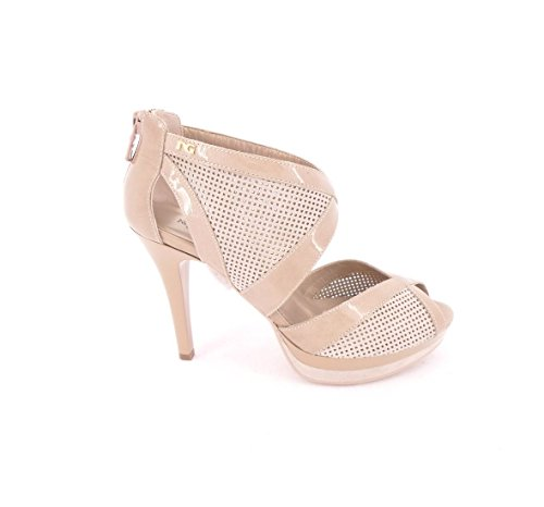 Nero Giardini - Zapatos de vestir de Piel para mujer Gris Tortora Tortora