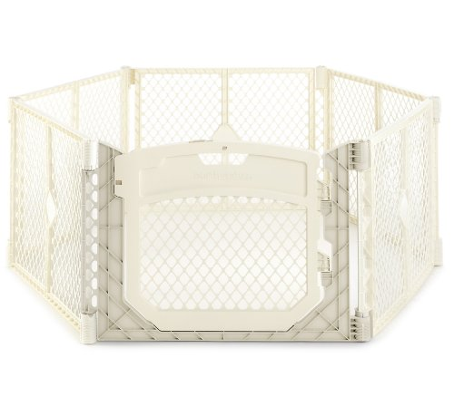 North States Superyard Ultimate Play Yard, Ivory from North States (Plastic Play Yard Infant)