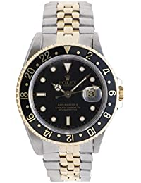 GMT Master II automatic-self-wind mens Watch 16713 (Certified Pre-owned)