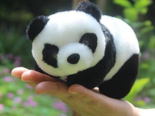 Moran Toys Super Cute Stuffed Panda Plush Dolls Animal Toys Airpot Zoo Small Size 6.5