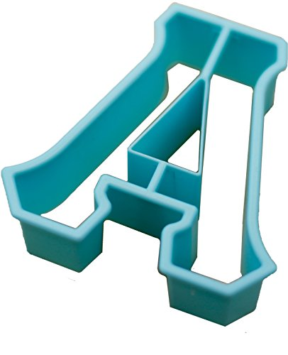 Live Greek-Greek Letter Shaped Cookie Cutter-ALPHA Shape-Measures 3