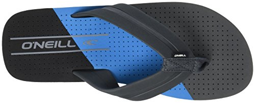 O'Neill Men's Fm Imprint Punch Flip Flops Beach and Pool Shoes, Blue Blue (Pure Cyan 5500)