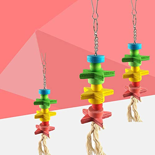 Glove Whistle (Bird Training - Lovely Star Blocks Rope Cage Hanging Ladder Pet Parrot Bird Chew Toy - Gloves Whistle Supplies Book Treats Bird Stand Perch Dummy Methods Tools Stick Training Toys Dogs)