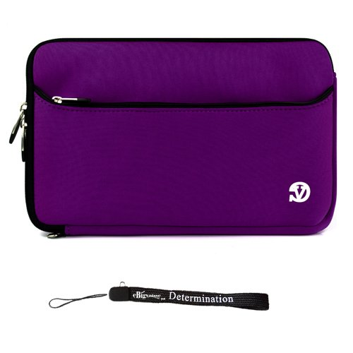 PURPLE WITH BLACK TRIM Slim Protective Soft Neoprene Cove...