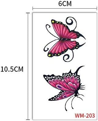 zgmtj Etiqueta engomada Fresca del Tatuaje 3D de Chinchilla WM203 ...