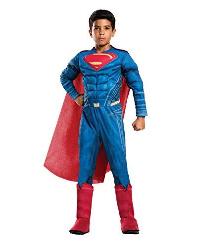 Rubie's Costume Batman vs Superman: Dawn of Justice Deluxe Muscle Chest Batman Costume