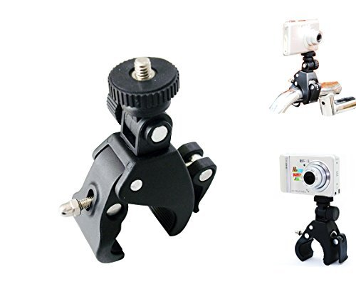 Bike Motorcycle Handlebar Pivot Point Mount for Gopro Hero 4 3 3+ 2 HD Video Cameras (Motorcycle Mount Camera Video)